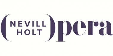 Nevil Holt opera logo in purple